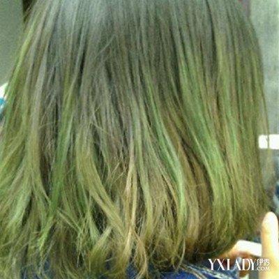 绝密原宿墨绿色头发流出 2018年一定要尝试的发色图片