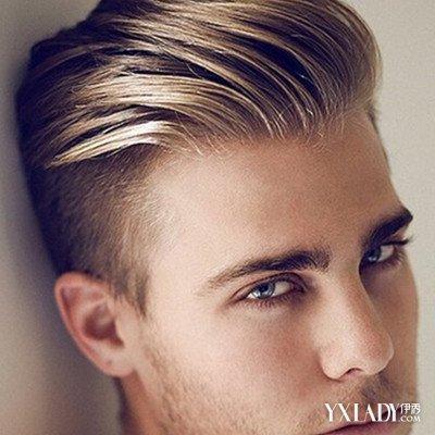 帅气的男人发色图片欣赏男生最适合染什么颜色的头发图片