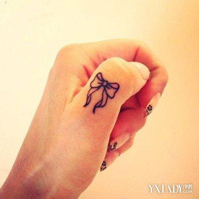 【图】女生手指个性小纹身小巧精致 适合单身贵族的小图片