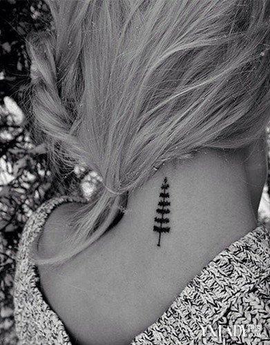 彩妆 潮流彩妆 正文  纹身 纹身图案大全 颈部纹身图案大全图片