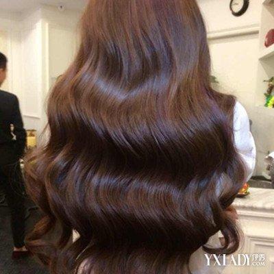 【图】发型发尾大卷女孩中长发裤子防脱方法自然避免发亮如何熨烫图片