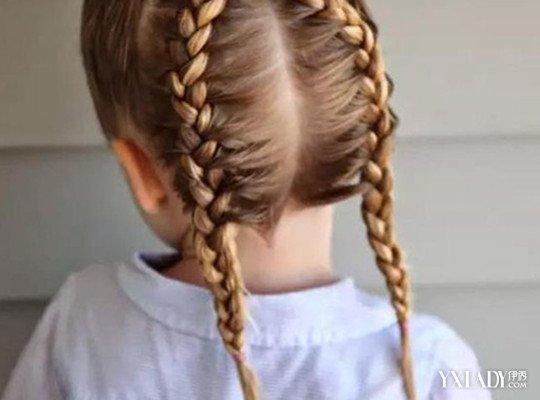 【图】怎样帮小孩扎头发图片详解 教你把孩子变成小公主图片