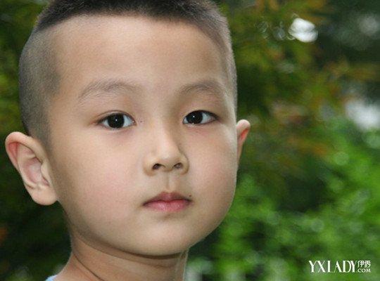 儿童平头发型步骤