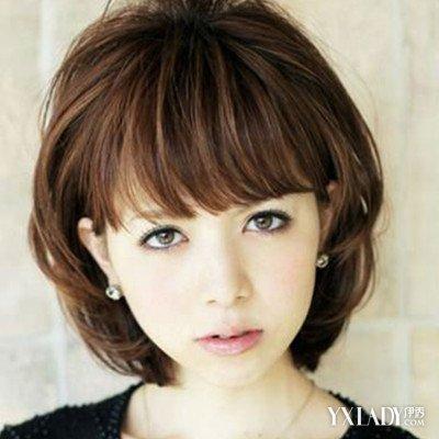【图】烫发发型图片女短发发型推荐图片图片