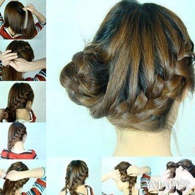 到底怎样扎头发好看又简单包头_发型设计