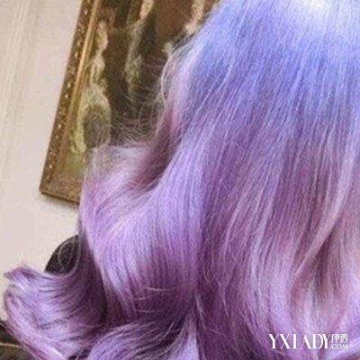 【烟灰紫色头发图片女】烟灰紫色图片