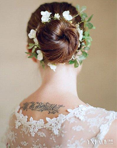 小清新新娘发型 户外婚礼选这些就对了!图片