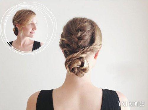 【图】时尚低发髻盘发 三分钟打造气质发型图片