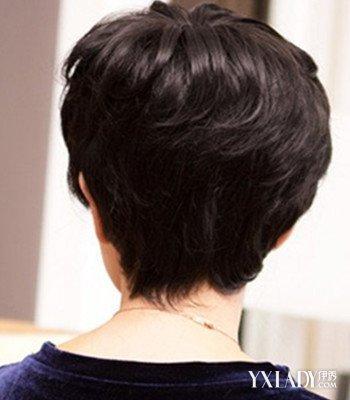 【图】中老年短发烫发发型图片展示 减龄又显气质图片