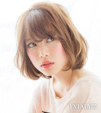 【图】长脸肛门适合图片女生气质修颜迷钩发型女生图片