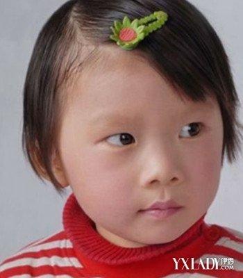 【图】小女孩最短发型图片欣赏 呆萌可爱最讨喜图片