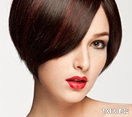 不等式发型女图片展示 4款发型让你个性张扬图片