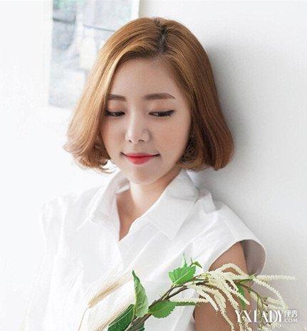 发型 短发 韩式/mm们想要知道今年流行的韩式中短发烫发发型趋势吗?...