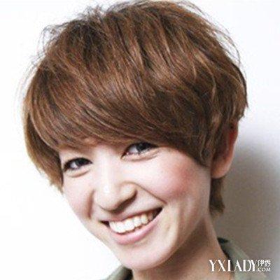 【图】短发帅气露耳女生图片展示a短发帅气潮短头发往外翘怎么卷图片