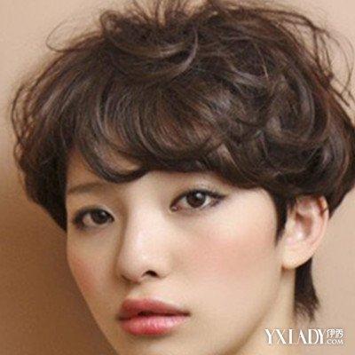【图】发型帅气露耳图片图片展示a发型帅气潮中年短发中长女生气质图片