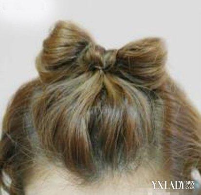 【图】图解美美的齐耳短发扎头发打中教你看看短发做热烫好看吗图片