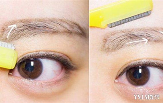 【图】如何修一字眉型图解 简单几步修眉法让你拥有完美弧形