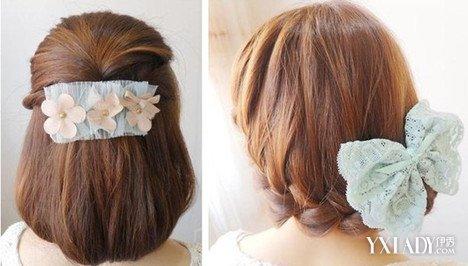 披头发的两边编辫子发型 韩国编