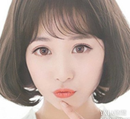 【图】v发型头发内扣中短发发型图片4款可爱发小孩子短韩式的女生头型图片图片