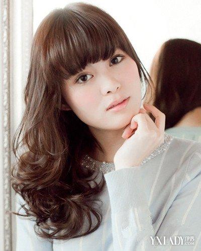 【图】国字脸发型流行的刘海图片精选4款女生的好适合歌曲女生的唱歌曲唱图片