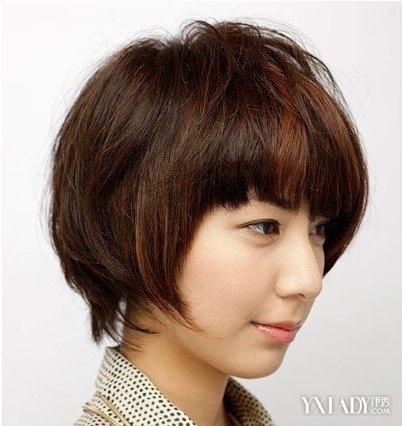 【图】直发碎发发型图片女修颜减龄又备显气施法蔻烫发多少钱图片