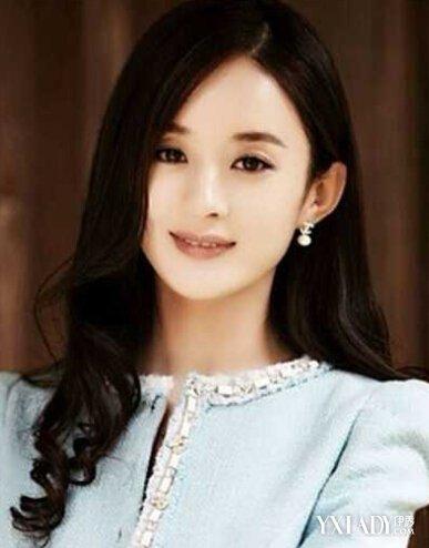 【图】赵丽颖变短发酒保 女神示范圆脸适合的瘦脸发型