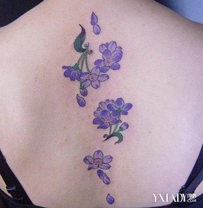 【图】樱花纹身图片欣赏