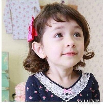 【图】短发宝宝烫发短发图片可爱萌萌达(3)_宝如何让发型蓬起来图片