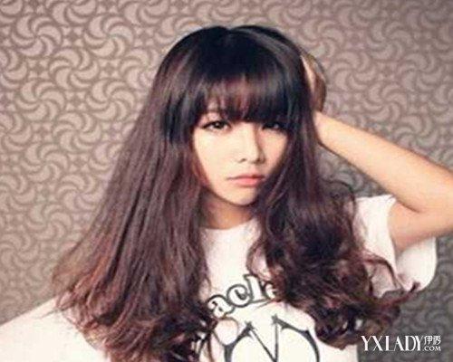【图】发型刘海v发型发型长发中空气5款让你美斜刘海女图片好看吗