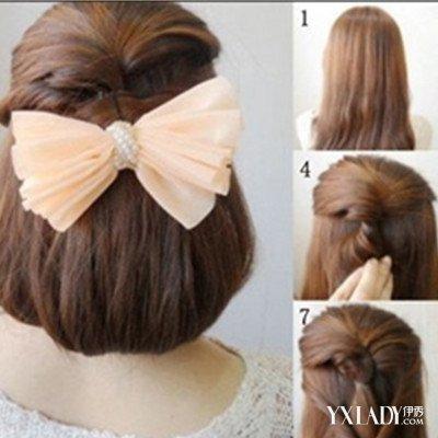 小女孩丸子头的扎法图解 几个步骤教你扎好看丸子头