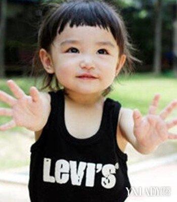 女宝宝短发发型图片_2岁女宝宝图片