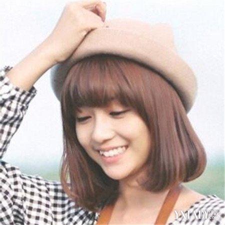 【图】齐肩短碎发发型图片女生 四款2018流行的韩系短发图片