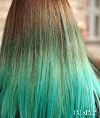 【图】v发型灰绿色头发发型让你更加与众不同短发易扎发型图片