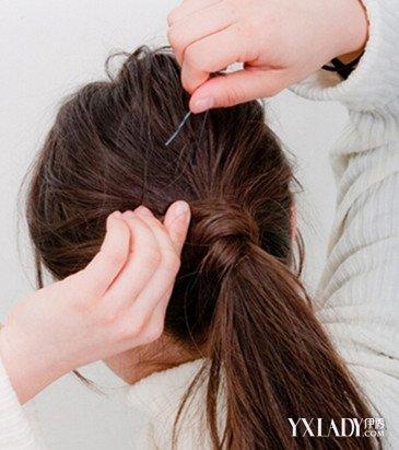 直长发简单发型编扎法分享展示