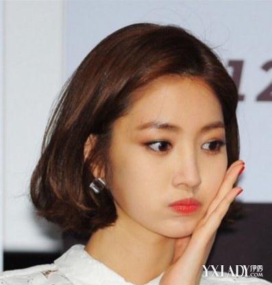 【图】韩国女明星短发发型图片新款介绍 清新减龄可爱图片