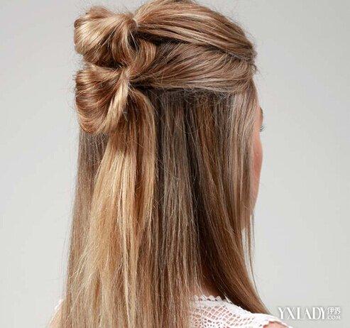 【图】简单半扎发型教程图解 双丸子头更加抢眼图片
