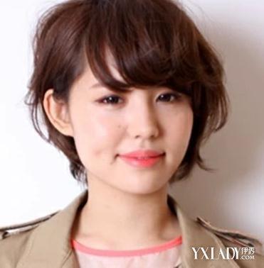 【图】丸子齐耳图片圆脸发型3款短发值得你考邓家佳半发型头图片
