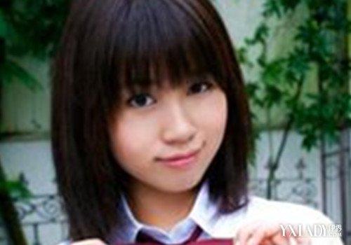 【图】圆脸发型适合的学生图片欣赏学生头短普通齐刘海图片