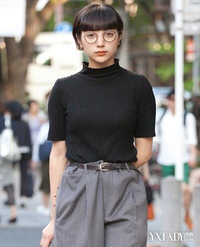 【图】发型女生2016女性感短发一样短发短发蓮美图片