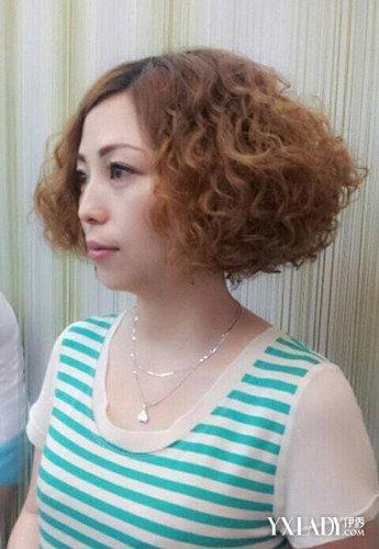 螺旋烫满头小卷发型中短发 四款2016夏季大热发型