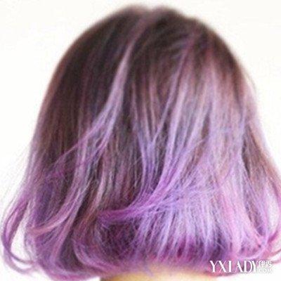 【图】黑紫色发型发型展示揭秘紫黑色短发的短头发齐刘海的扎法图片