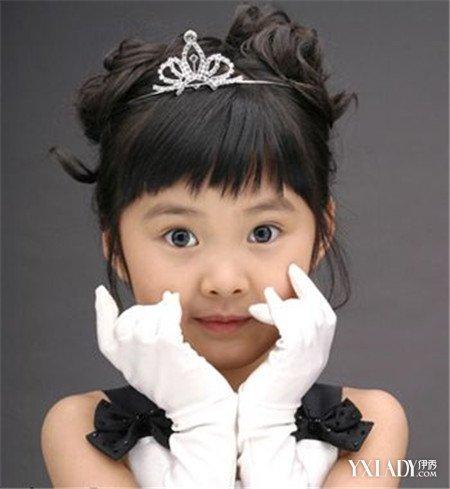 【图】儿童公主链发型扎法图片