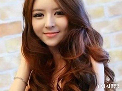 【图】韩国中短发烫发中性国字现5款中长大展韩式脸图片风长发图片
