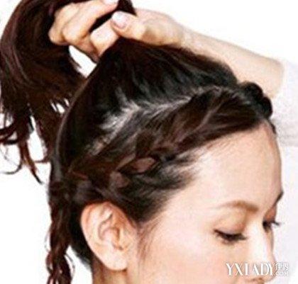【图】韩国辫子发型扎法图解 两种扎法任你选择