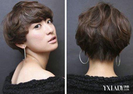 【图】短发后脑勺发型图片怎么样? 流行的发型你不容错过图片