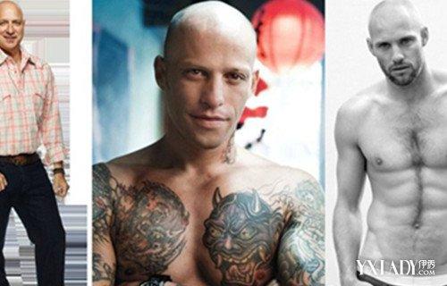 帅哥光头发型展示 尽显成熟男性魅力图片