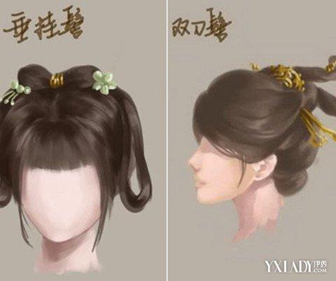 【图】古风发型女中长 给你详解4款发型(3)_古