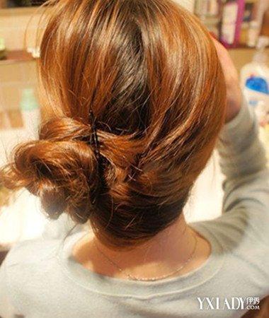 分享气质盘发发型图片步骤 简单低盘发让你一秒换画风