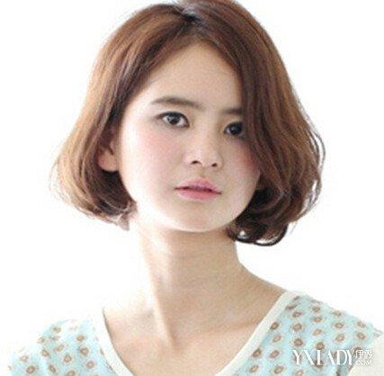 【图】发型烫发大店短发?3款圆脸适合你考值得齐耳和小店图片