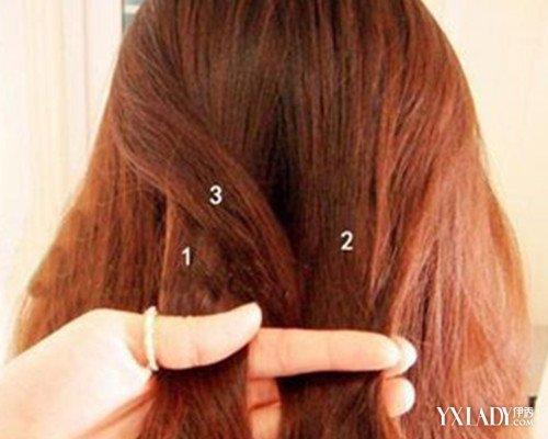 【图】编发型药水图解大全三步教你学韩式烫发辫子放多了或者放少了图片